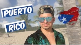 VIAJE CON VISA K1 |NI UN POLICIA EN PUERTO RICO|