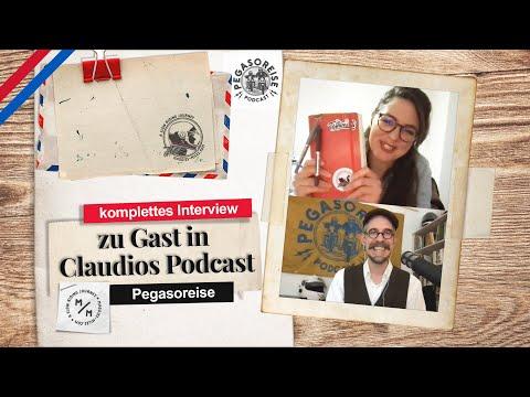 zu Gast in Claudios Podcast   PEGASOREISE