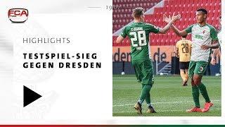 18/19 // Highlights // Testspiel-Sieg gegen Dynamo Dresden