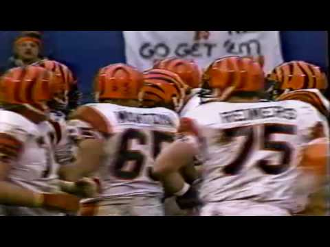 Cincinnati Bengals Anthony Munoz Last-Second TD Catch vs Browns - 1984