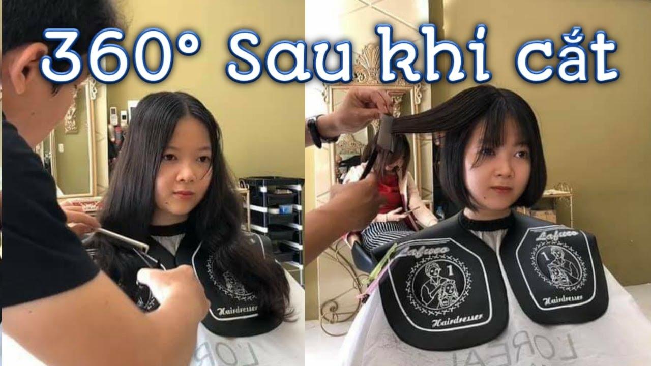 Cắt tóc ngắn đẹp với khuôn mặt tròn | HAIR SALON TUẤN CHU