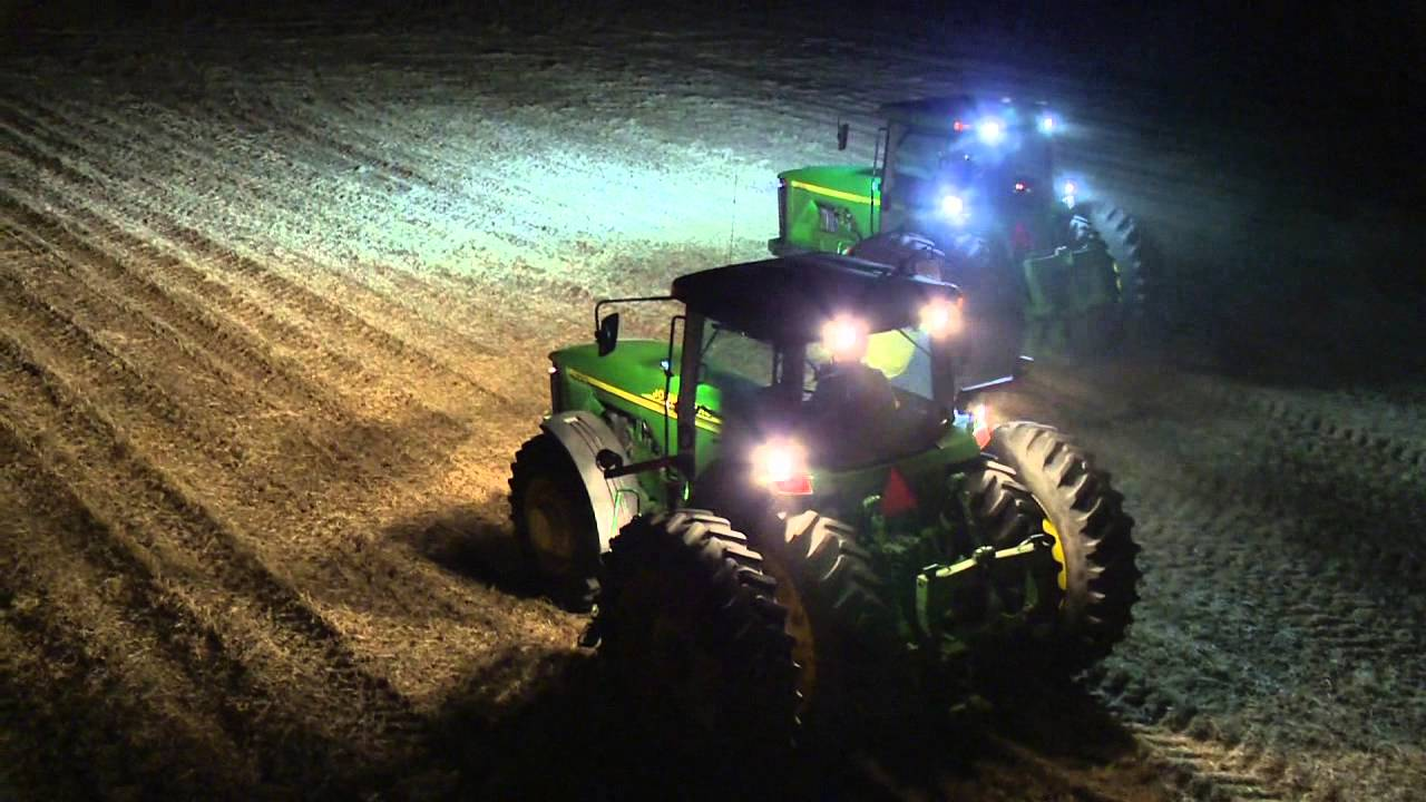 John Deere Led Lighting Video Youtube Heavy Duty Wiring Suitable For Hid Halogen Light And Bars