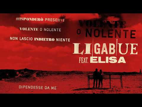 Ligabue - Volente o nolente (feat. Elisa) (Official Visual Art Video)
