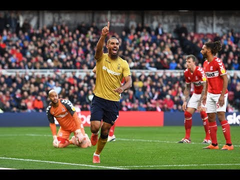 Highlights: Middlesbrough 0-2 Forest (06.10.18.)