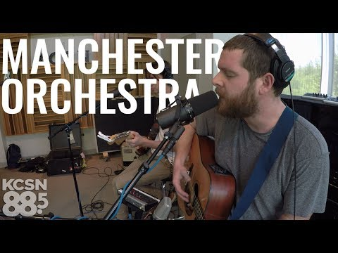 """Manchester Orchestra    Live @ 885 KCSN    """"The Gold"""""""