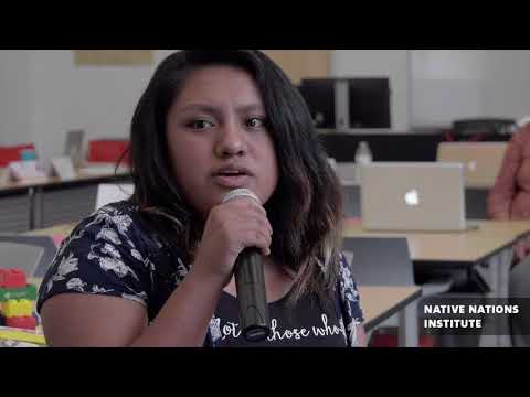 Project Youth ACT (Agents of Change within Tribes): Native Nations Institute