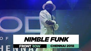 Nimble Funk | FrontRow | World of Dance Chennai 2018 | #WODCHENNAI18