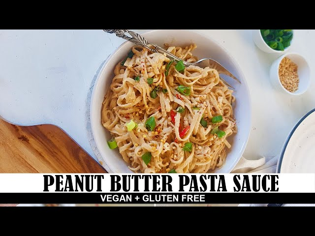 Peanut Butter Pasta Sauce