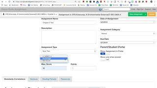 كيفية إنشاء assignment1