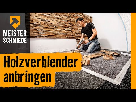 holzverblender anbringen hornbach meisterschmiede youtube. Black Bedroom Furniture Sets. Home Design Ideas