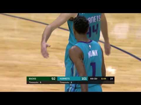 Milwaukee Bucks at Charlotte Hornets: November 1, 2017