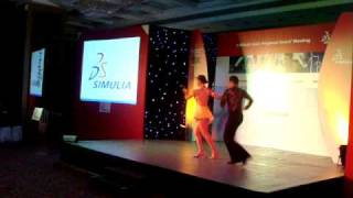 Classic Salsa - Performed by Sai and Kirthi of Latin Dance India (LDI)