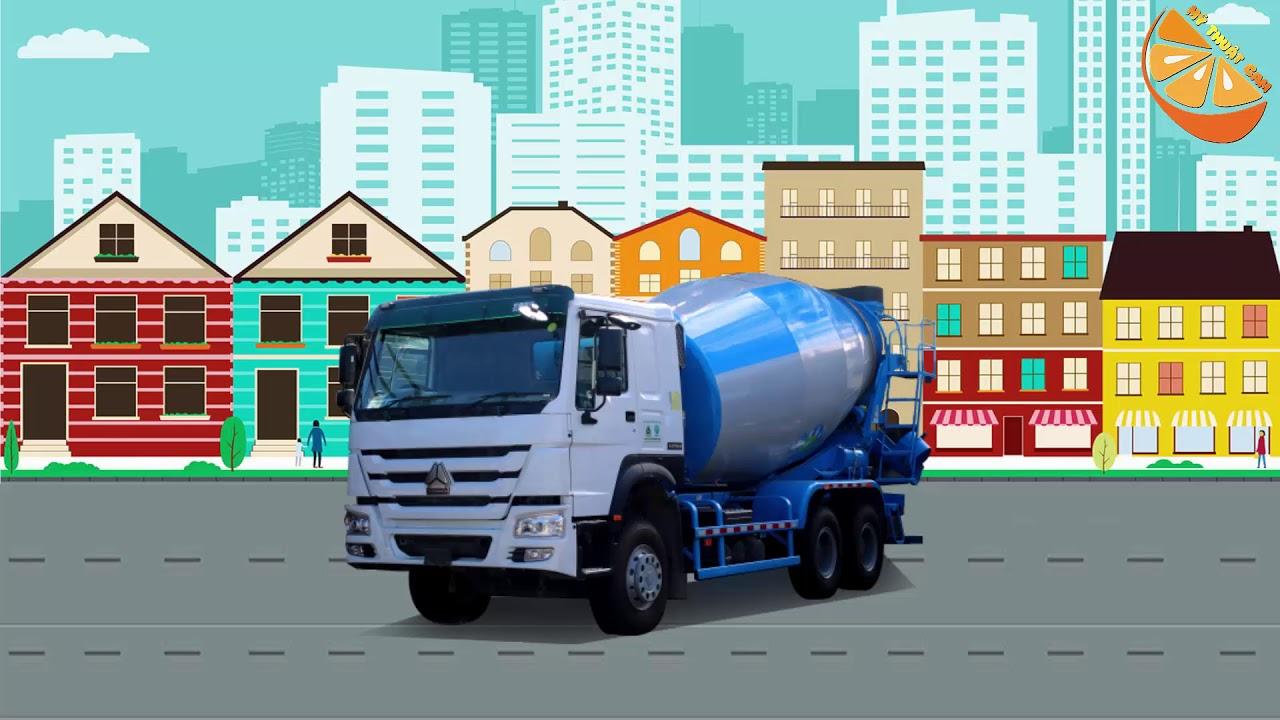 image Bé Học Các Loại Phương Tiện Giao Thông | Learn Transport Vehicles