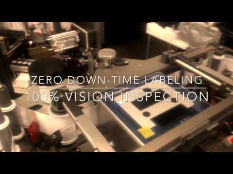 Zero Down Time Print-Apply Labeling with 100% Vision Inspection