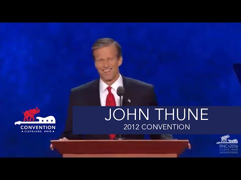 Those Who Have Come Before | Senator John Thune | 2012 Republican National Convention