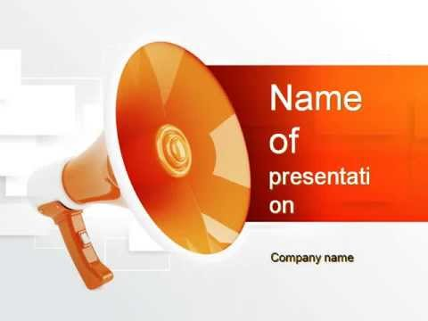 public relations powerpoint template youtube