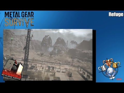Metal Gear Survive - Refuge - Trophy/Achievement Guide (PS4)