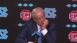 UNC Men's Basketball: Roy Williams Post NC State Press Conference