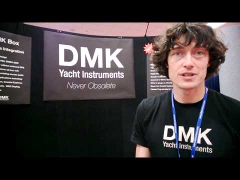 DMK - Instrument Data on iPad, iPhone, PC - Seattle Boat Show 2014
