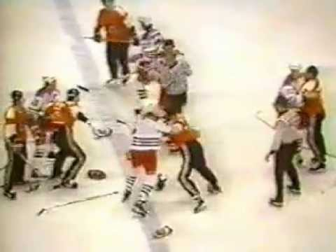 Tom Laidlaw vs Greg Adams/Ed Hospodar vs Bill Barber Dec 16, 1981