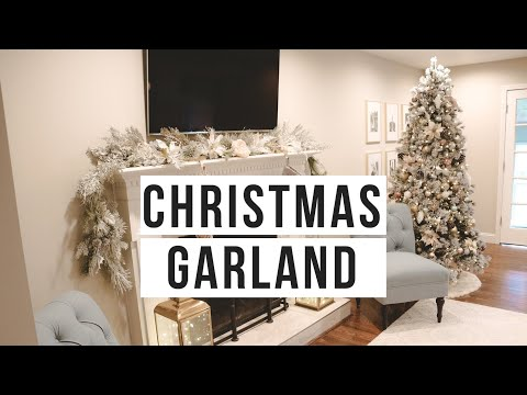 DIY CHRISTMAS GARLAND 2018   DECORATE WITH ME