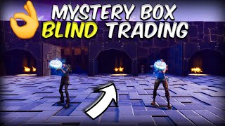 Insane Mystery Box Blind Trading! in Fortnite Save The World