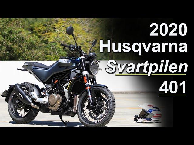 2020 Husqvarna Svartpilen 401 Review - What's New & Impression