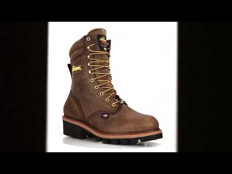 Men's Thorogood 9 Inch Steel Toe WP/Insulated Logger Boot USA Built 804-3554