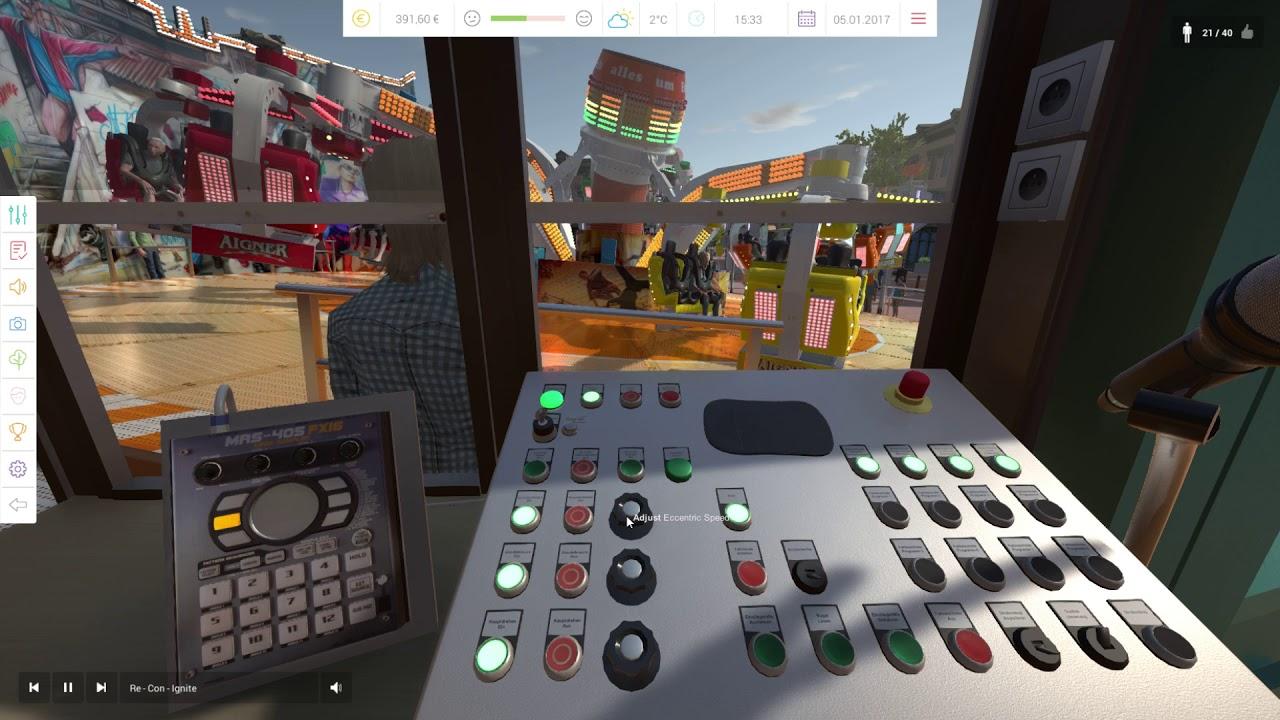 3d mega ride simulations parkour youtube for Simulatore 3d