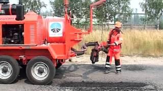 Смотреть видео Методы дорожных покрытий