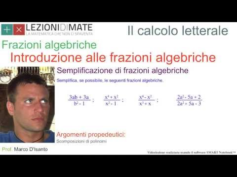 Equazioni Fratte from YouTube · Duration:  8 minutes 26 seconds