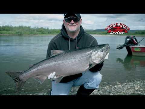 Light Tackle King Salmon in Alaska