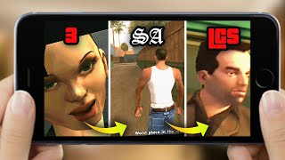The FIRST MISSION in GTA Android & iOS Over the YEARS (Evolution)