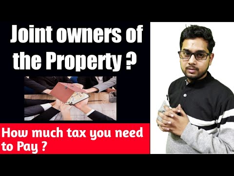 Joint Property Ownership | Tax on Co ownership of Property | TDS on property purchase |