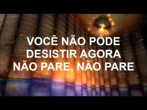 Não pare - Ronaldo Santos (playback legendado)