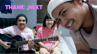 THANK U, NEXT - Ariana Grande (Cover) ft. My Sister