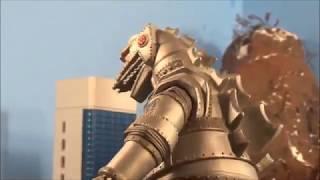 Godzilla (2000) Vs  Mechagodzilla (1975)!