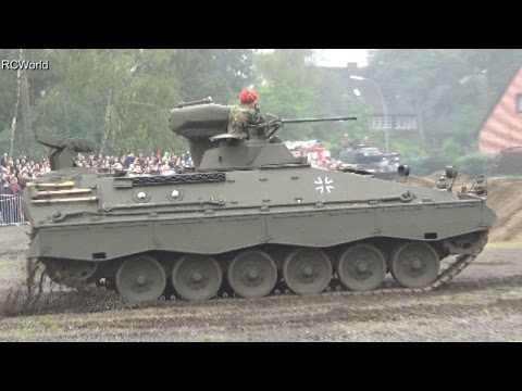 stahl auf der heide 2014 panzer marder 1 a1 in action. Black Bedroom Furniture Sets. Home Design Ideas