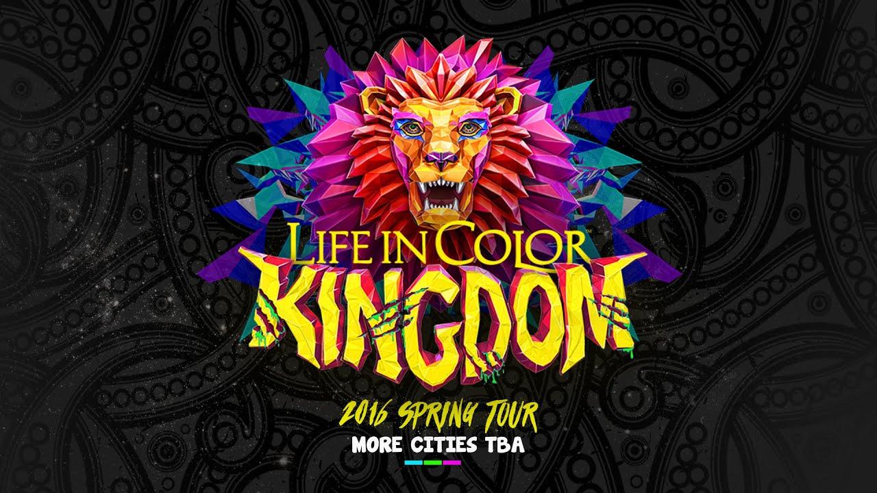 life in color 2016 kingdom tour release youtube. Black Bedroom Furniture Sets. Home Design Ideas