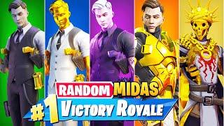 The *RANDOM* MIDAS BOSS Challenge in Fortnite!