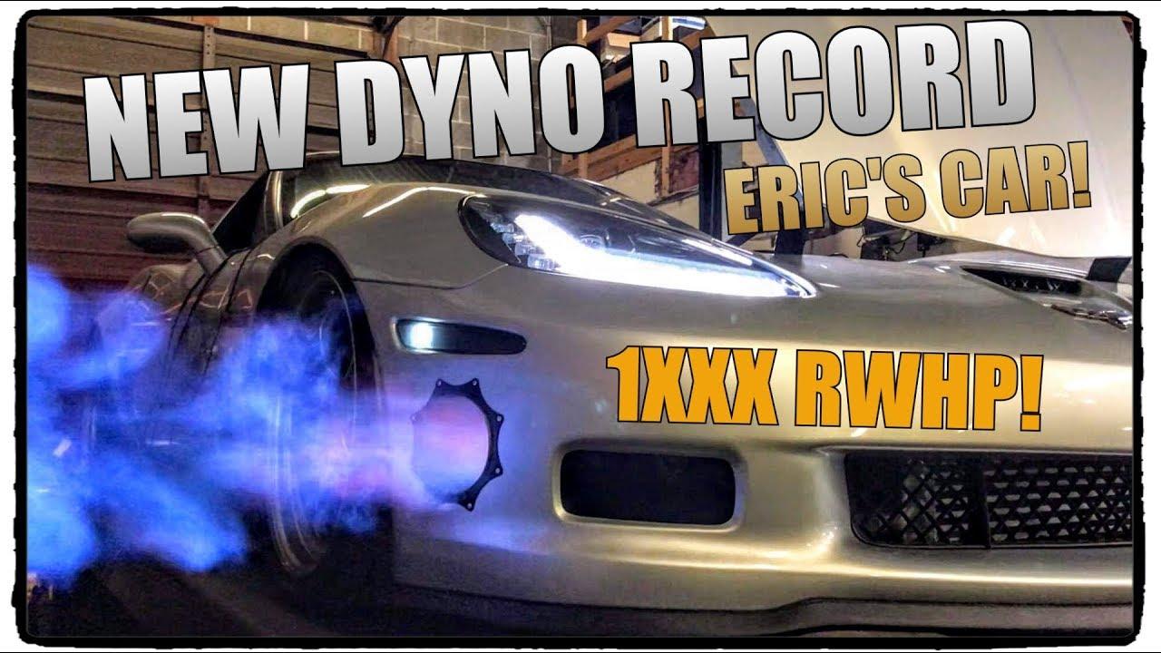 NEW DYNO RECORD: 107mm Turbo C6 Corvette!