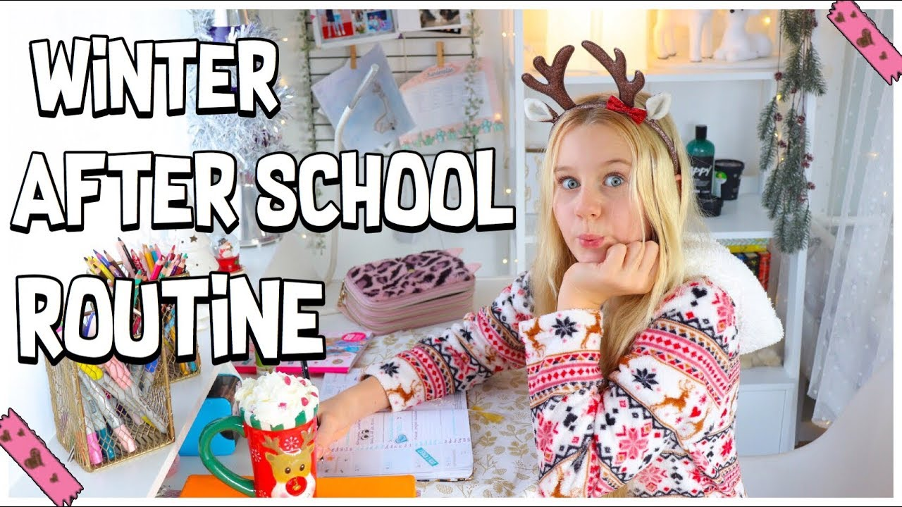 [VIDEO] - WINTER AFTER SCHOOL & HAUSAUFGABEN ROUTINE 2019 | MaVie Noelle Family 3