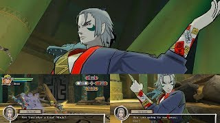 Naruto Shippuden Dragon Blade Chronicles Walkthrough Part 24 - Naruto & Sasuke vs Kuroma 1080p
