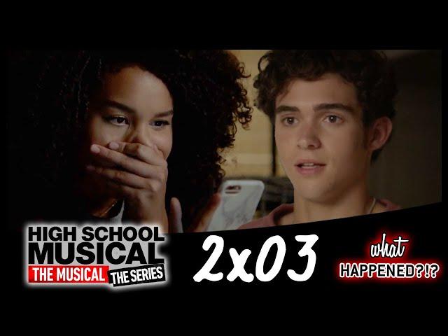 HSMTMTS 2x03 Recap - Ricky & Gina's Miscommunication (High School Musical: The Musical: The Series)