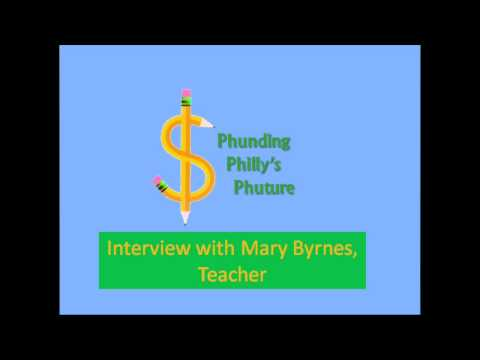Phunding Philly's Phuture Interview With Mary Byrnes