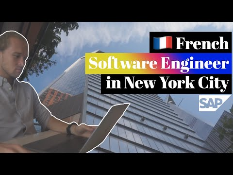 🇫🇷 French Software Engineer In New York City (@SAP America Office)