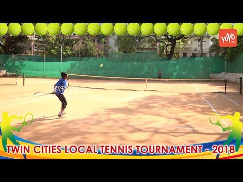 Twin Cities Local Tennis Tournaments 2018 | Hyderabad Sports News | YOYO TV Channel