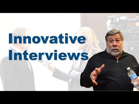 Steve Wozniak: an Innovative Interview Format