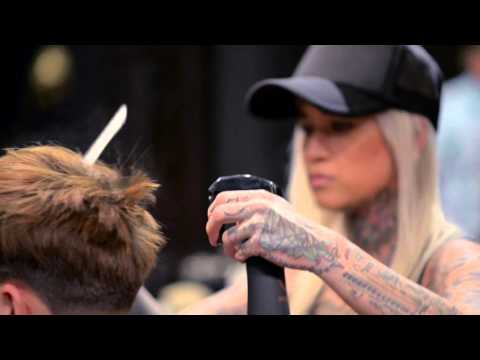 Dre Drexler hairstyle featuring Sofie from Daniel Alfonso Men's Salon