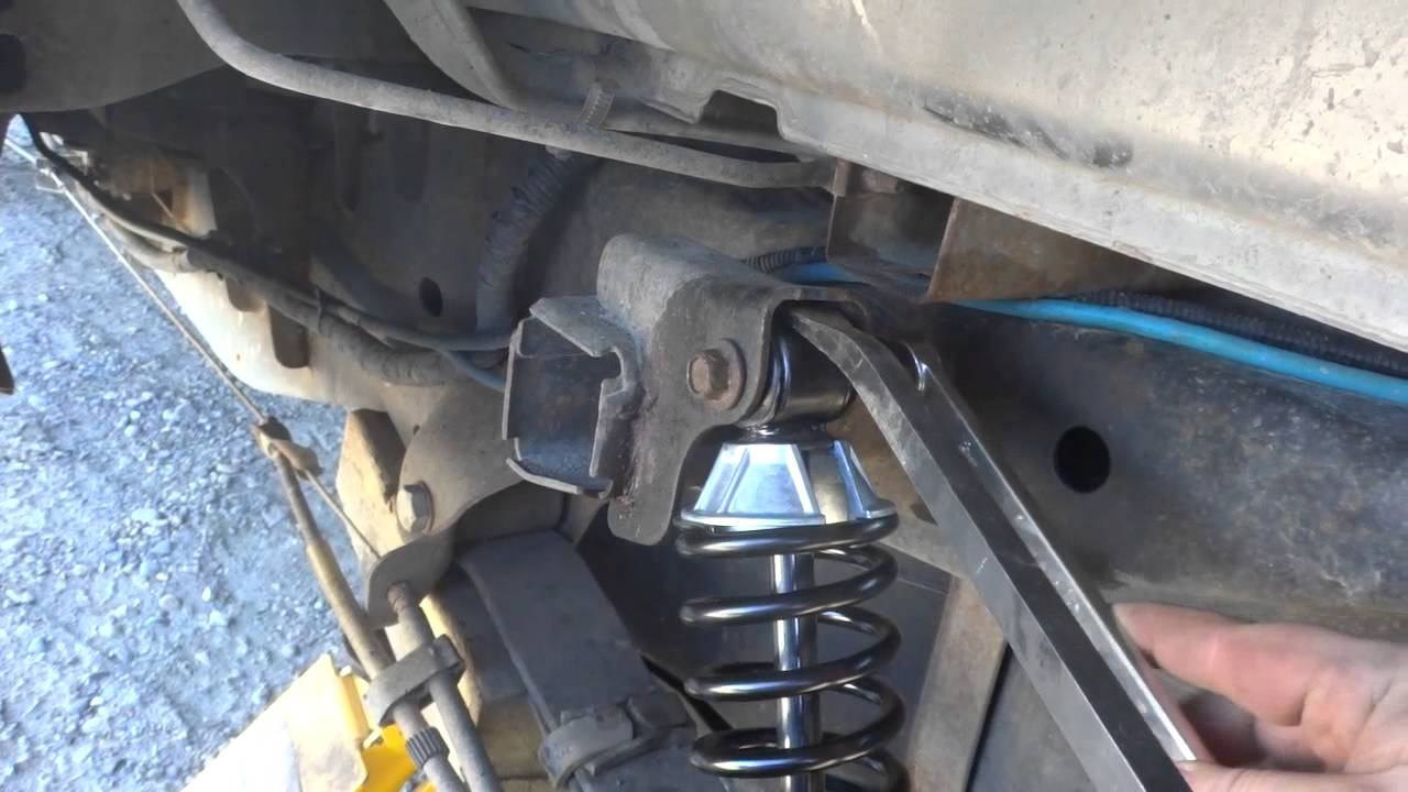 Diy F150 Rear Shock Replacement Youtube